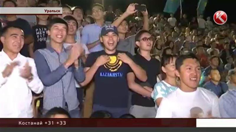 Земляки Данияра Елеусинова провели бессонную ночь