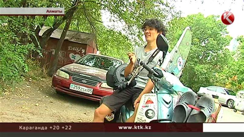 Странствующий кореец добрался до Алматы