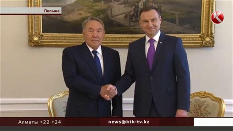 Назарбаев прибыл в Польшу