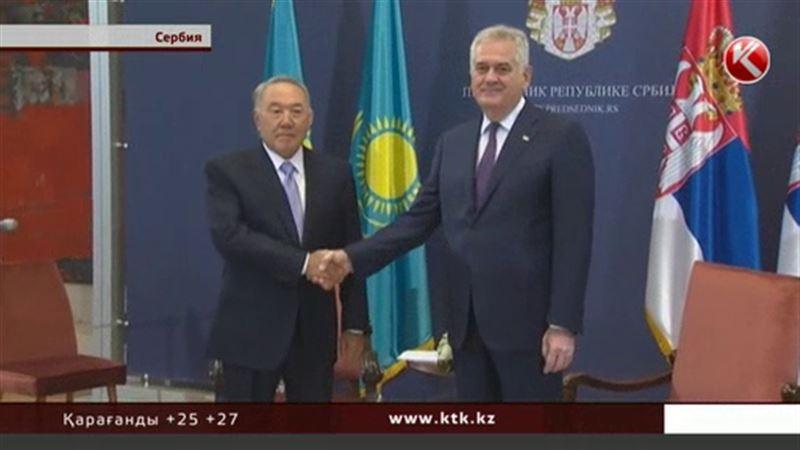 Нұрсұлтан Назарбаев сербиялық әріптесін «Достық» медалімен марапаттады