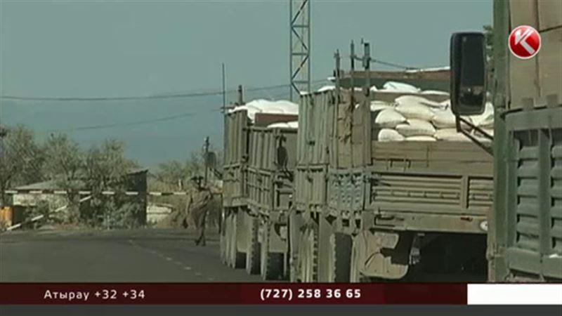 Казахстанско-узбекская граница закрылась на замок