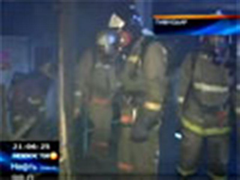 Крупный пожар в Павлодаре