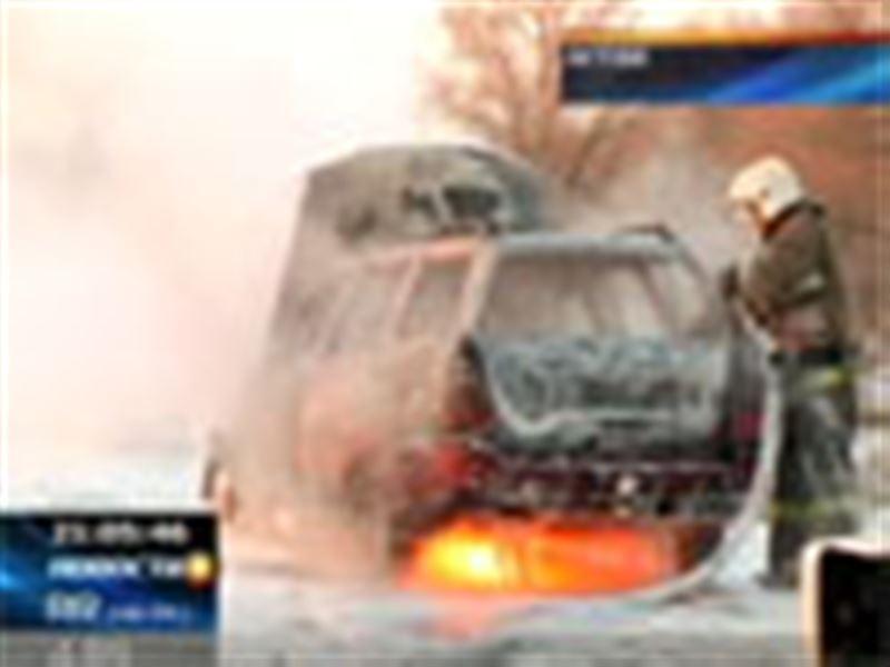 Житель Актобе едва не погиб в собственном автомобиле