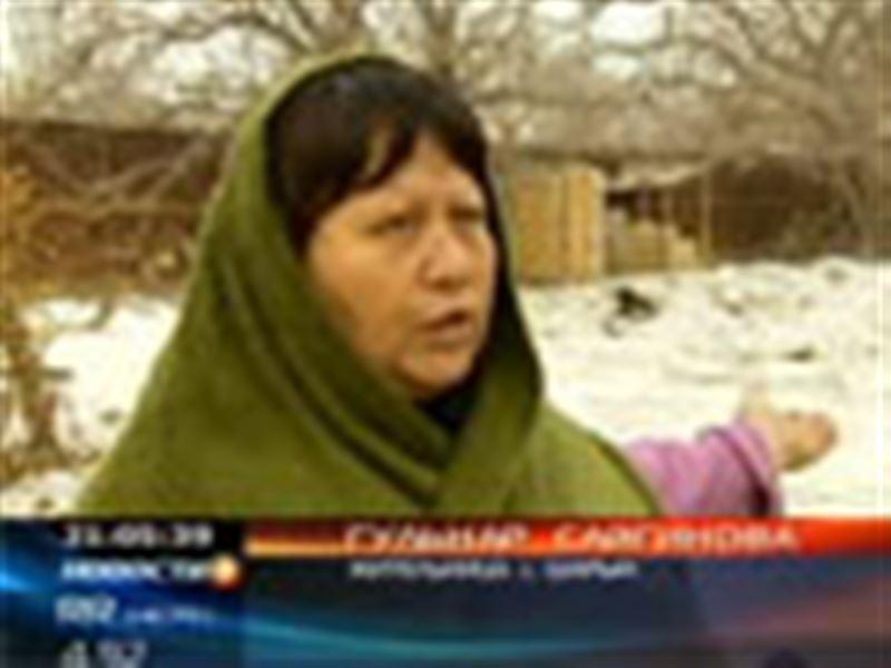 Жители села Шарын боятся, что с приходом весны произойдёт новое наводнение