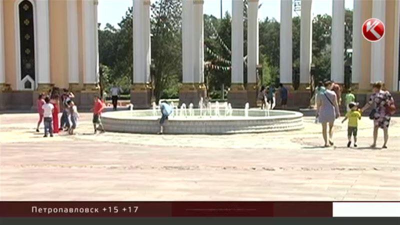 Лето остаётся на юге Казахстана