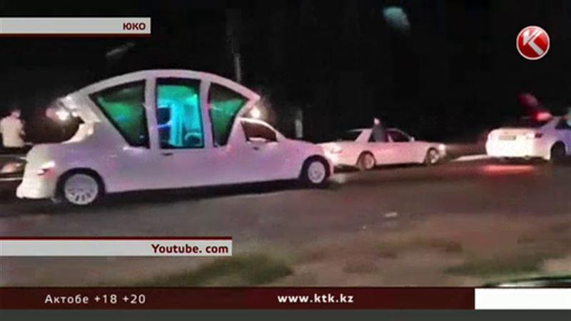 Вооруженную свадебную процессию разыскивают в ЮКО