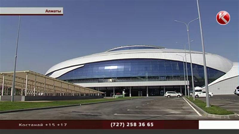 Ледовый дворец «Халык Арена» готов к Универсиаде