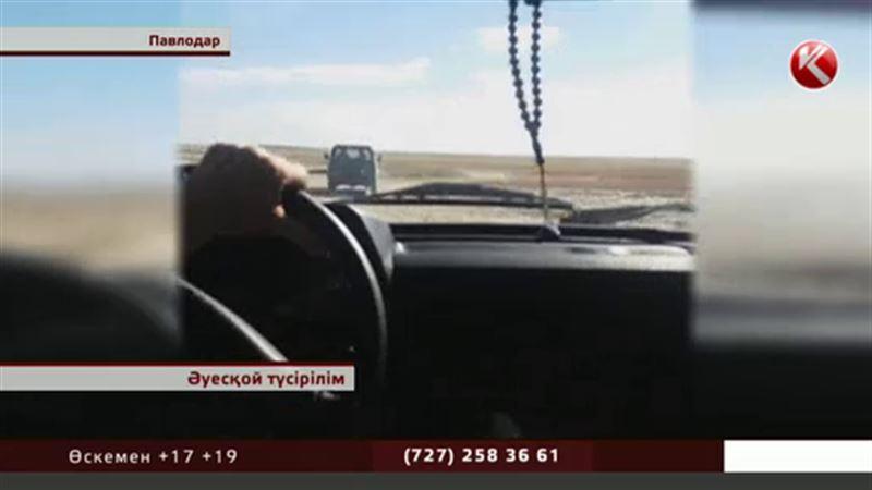 Павлодар облысында полицейлер браконьерлерді кинодағыдай қуалауына тура келді
