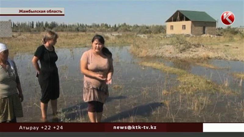 В Жамбылской области сельчане живут в страхе – боятся наводнения