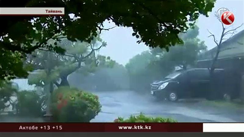 Тайфун на Тайване убил четверых