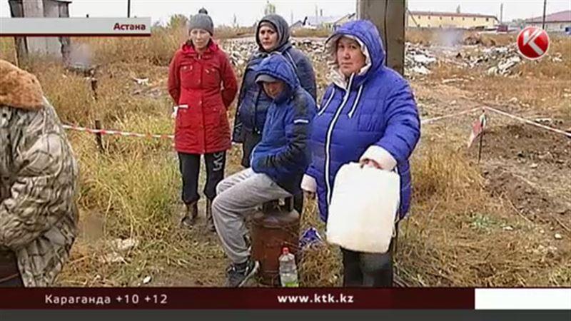 В Астане готовятся к массовому суициду – наготове газовые баллоны и бутылки с бензином