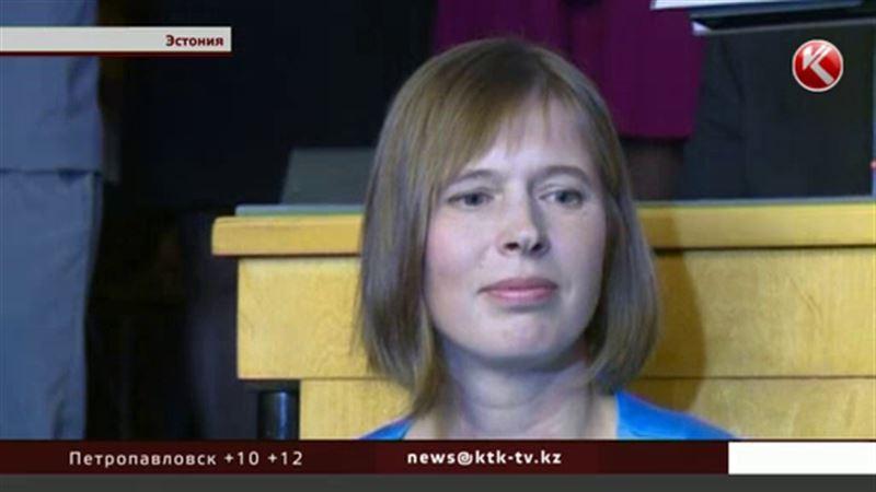 В Эстонии первая женщина-президент