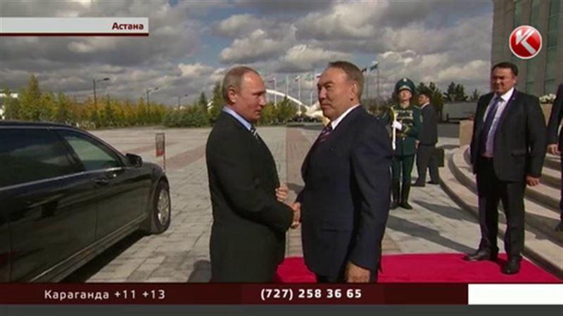 Переговоры между Путиным и Назарбаевым получились откровенными