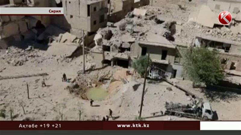 Сирияда билік әскері бүлікшілерді тықсыра бастады