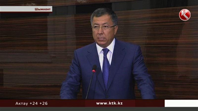 В Южно-Казахстанской области новый аким
