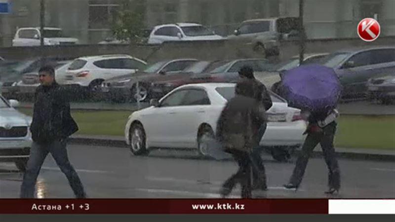 Штормовое предупреждение распространил Казгидромет