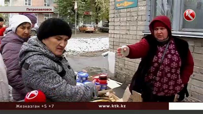 Прекратите базар: в Петропавловске торговцы пошли войной друга на друга