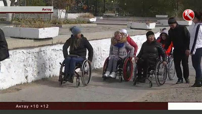Инвалиды-колясочники в Актау ставят эксперименты сами над собой