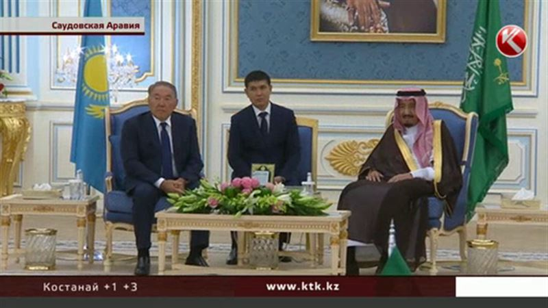 Назарбаев привез с Аравийского полуострова больше десяти соглашений