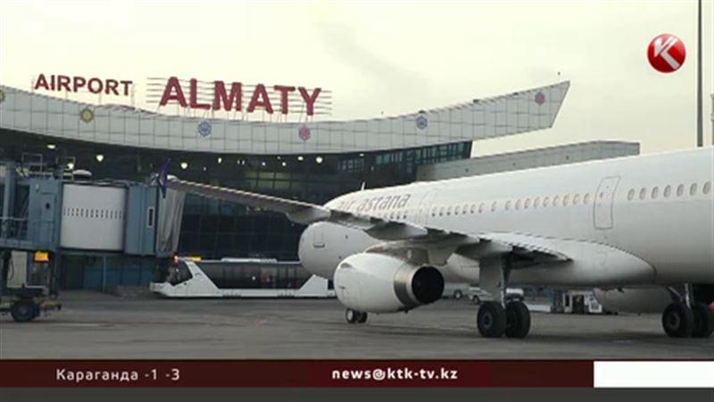 Из аэропорта Алматы экстренно эвакуировали всех пассажиров