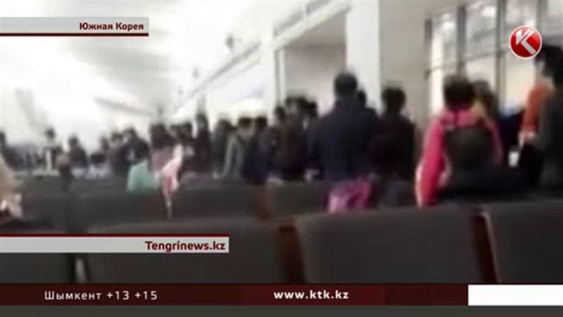 Казахстанские туристы вместо южнокорейских достопримечательностей любуются подвалом