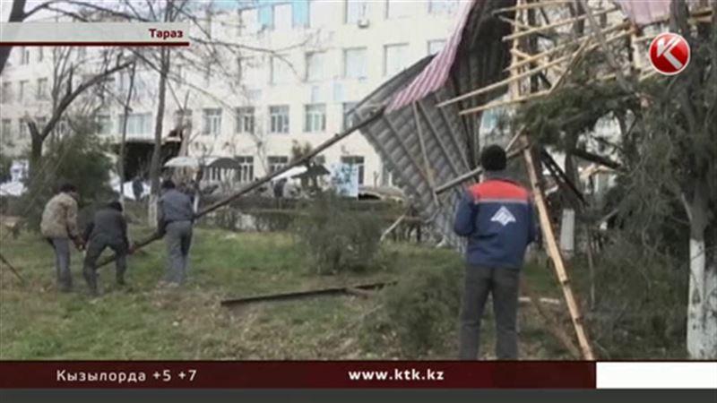 Ураган в Жамбылской области «погулял» на 384 миллиона