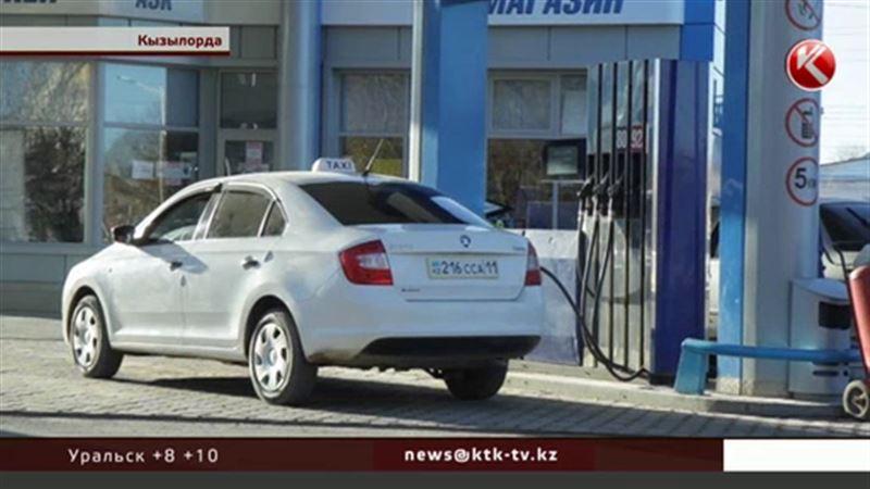 Дефицит бензина в Кызылорде