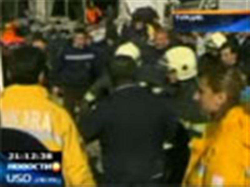 В Турции, в центре Анкары, шесть человек погибли в результате взрыва газа