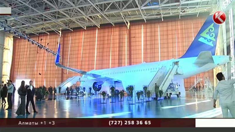 «Эйр Астана» представила бесшумный и комфортабельный лайнер