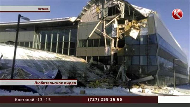 На ЭКСПО рухнула многотонная конструкция
