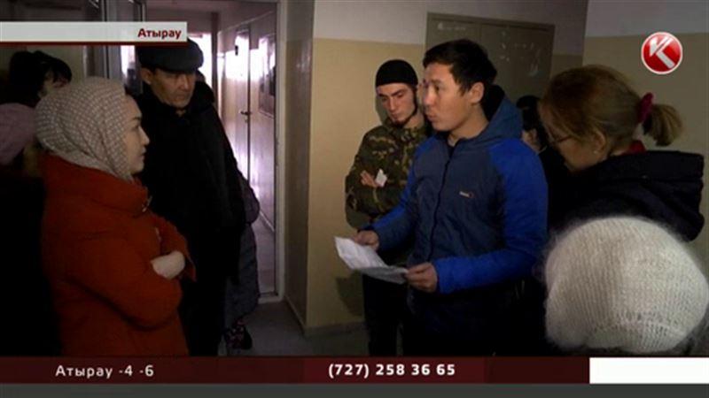 В Атырау ограбили 30 квартир в доме, где находится опорный пункт полиции