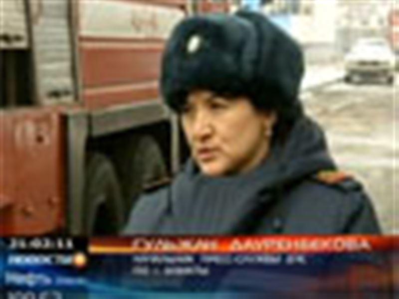 Крупная железнодорожная авария в Алматы