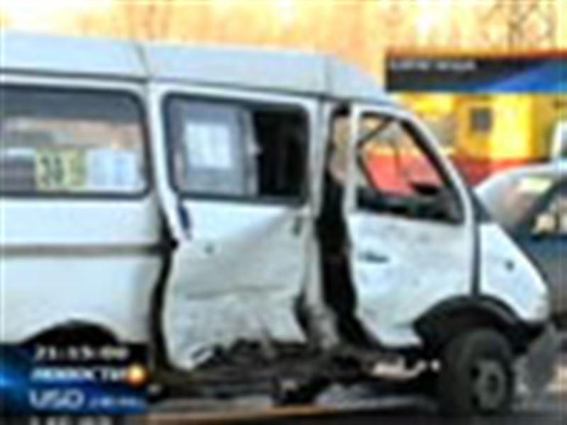 Крупнейшая авария в Караганде