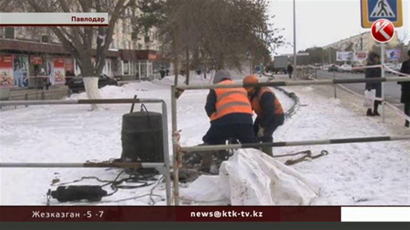 Режим ЧС пришлось вводить в Павлодаре из-за проблем на канализационном коллекторе