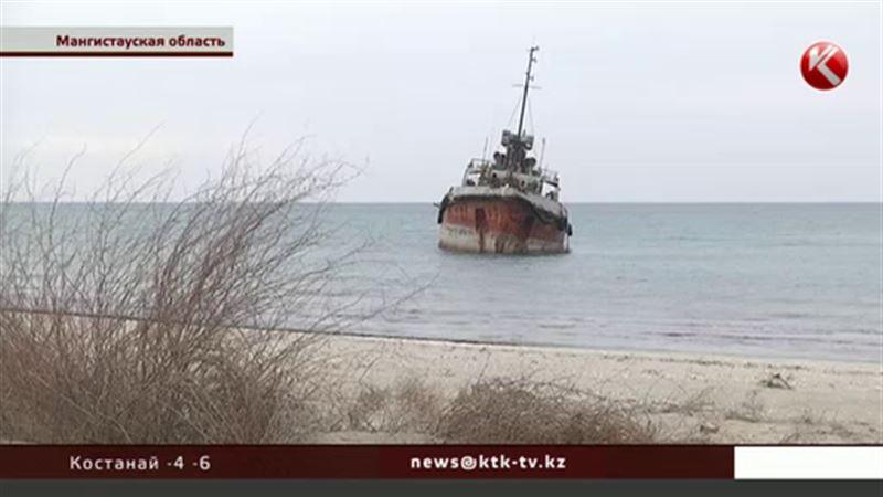 Экологи опасаются, что содержимое российского танкера выльется в Каспий