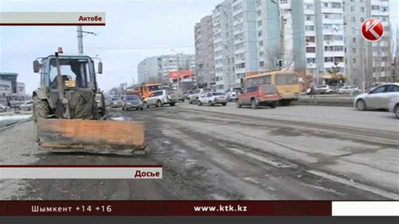 Актюбинские дорожники изобрели зимний метод укладки асфальта