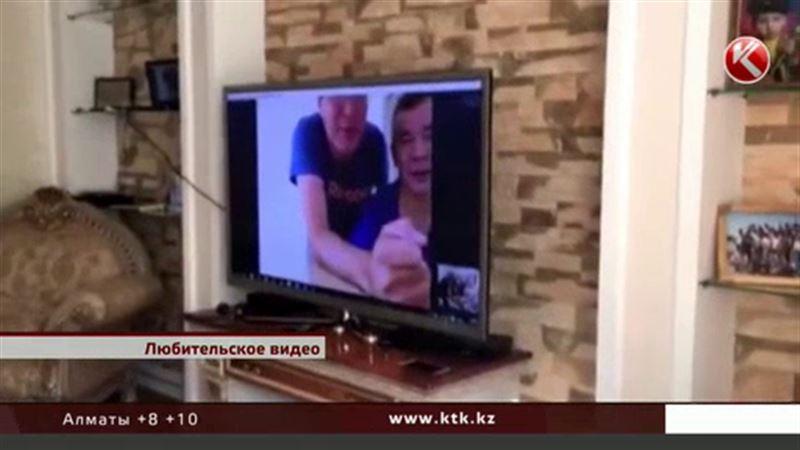 Видео экс-мажилисмена, скрывающегося от правосудия, гуляет в сети
