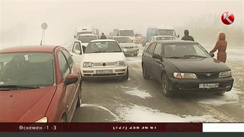 Жантүршігерлік апат болған «Астана-Көкшетау» жолы уақытша жабық тұр