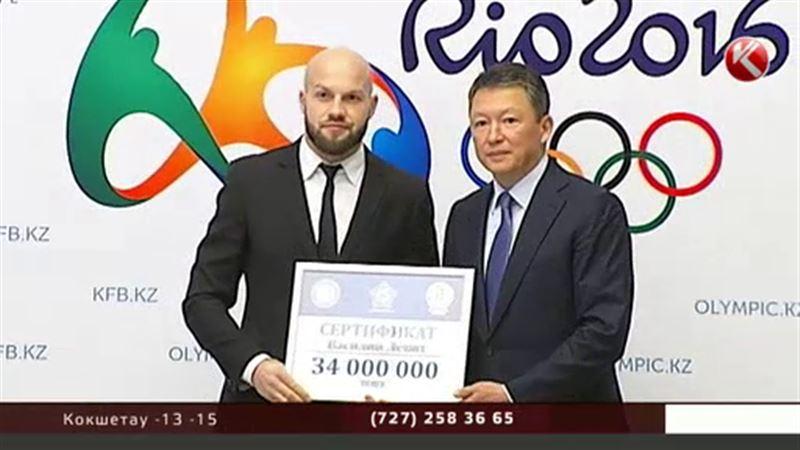 За волю к победе нашим олимпийцам выдали сертификаты на 34 миллиона