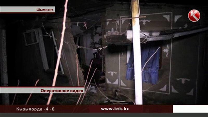 В Шымкенте едва не погибли две семьи