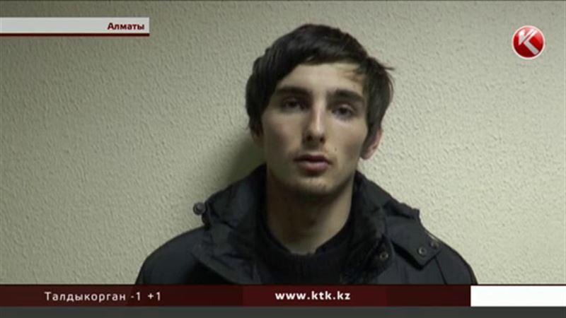 Алматинского воришку, который снимал автономера, задержали