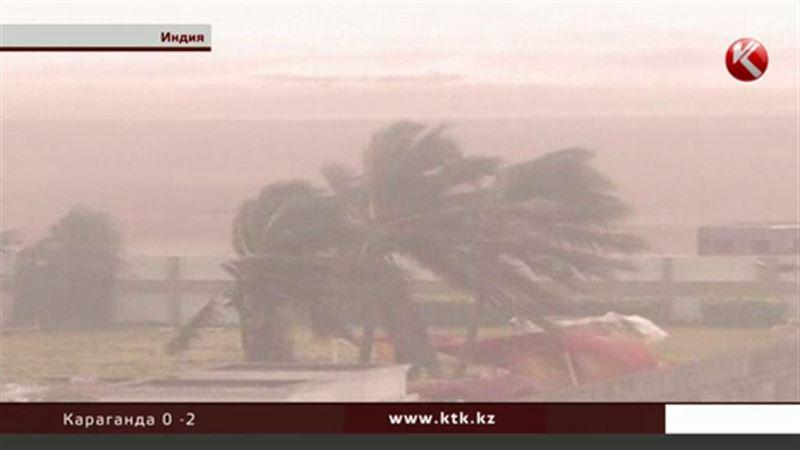 Казахстанцев в эпицентре урагана в Индии нет
