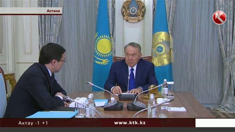 О ситуации на финансовом рынке рассказал президенту Данияр Акишев