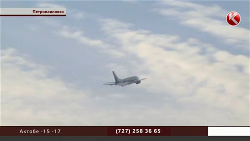 В Петропавловск снова летают самолеты