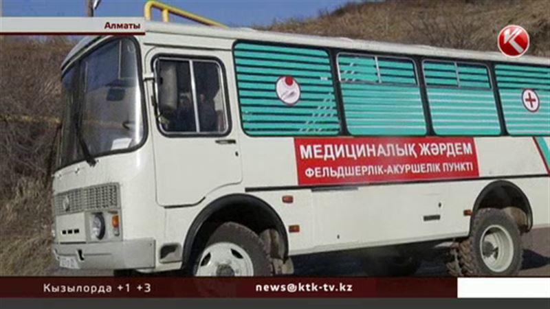 В Казахстане появился первый передвижной фельдшерско-акушерский пункт