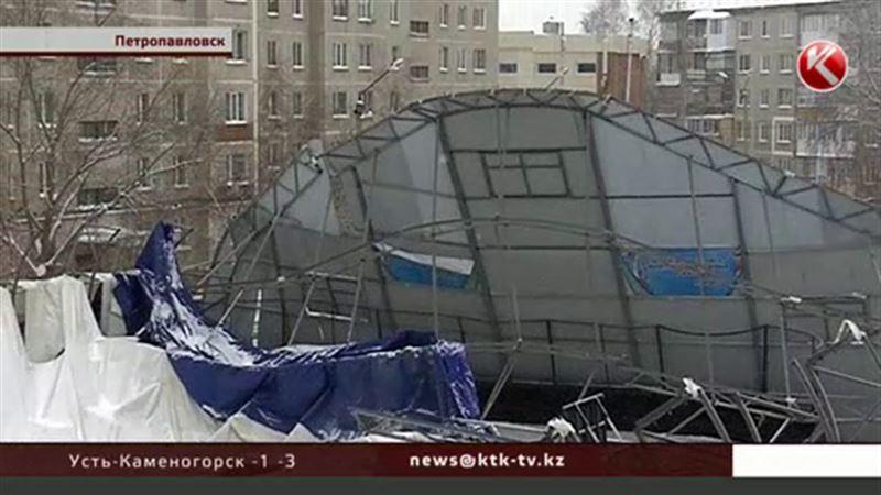 В Петропавловске обрушился крытый каток, где тренируются дети