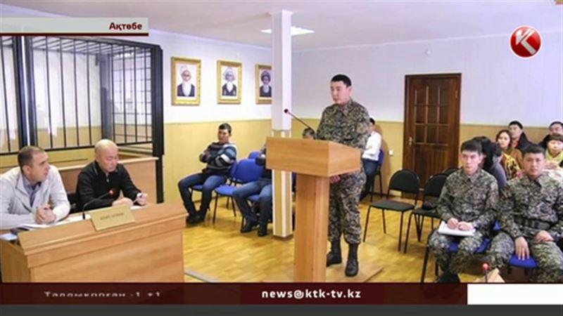 Ақтөбелік әскерилер бөлімге террористер басып кіргенде  дәретханаға тығылып қалған
