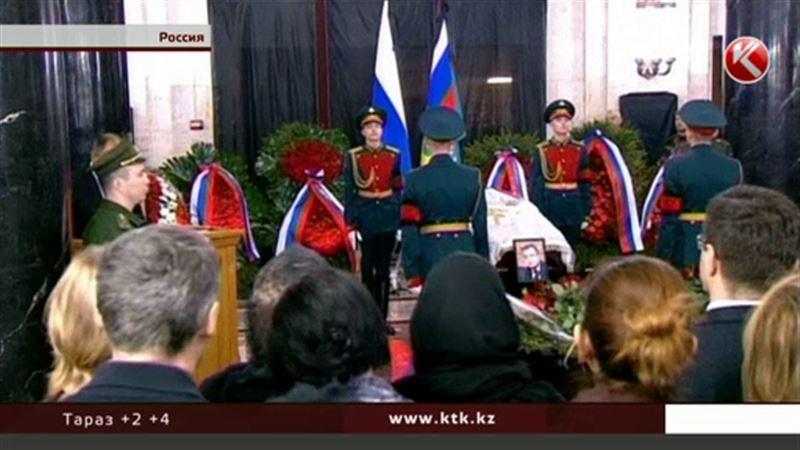 В России прощались с убитым в Турции послом Андреем Карловым