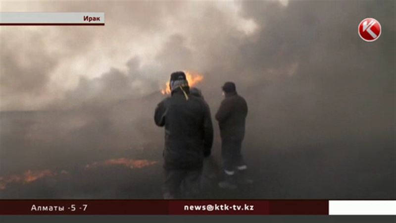 «Ислам мемлекеті» ұйымының содырлары Иракта мұнай көздерін өртеп жіберді