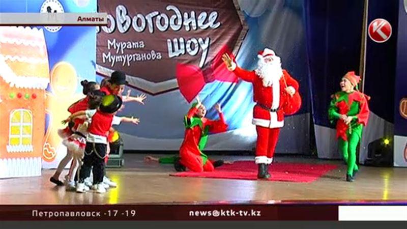 Жонглеры, акробаты и ростовые куклы развлекают детвору в Алматы
